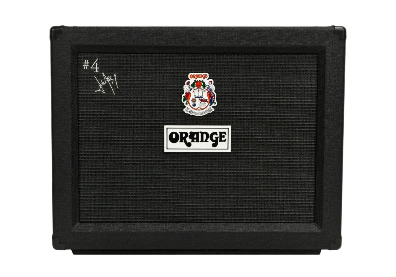 Orange #4 Jim PPC212 CAB 签名款橘子黑小强箱体